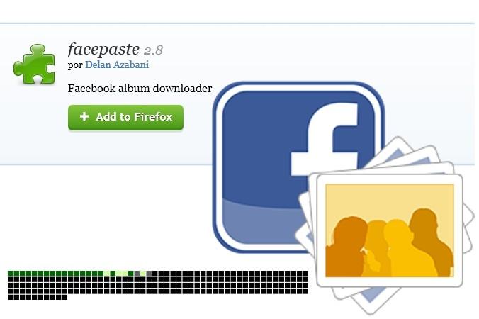 Descargar todas las fotos de un álbum de Facebook.
